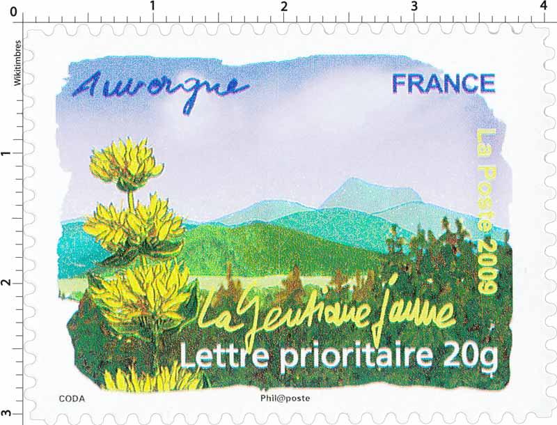 2009 Auvergne La gentiane jaune