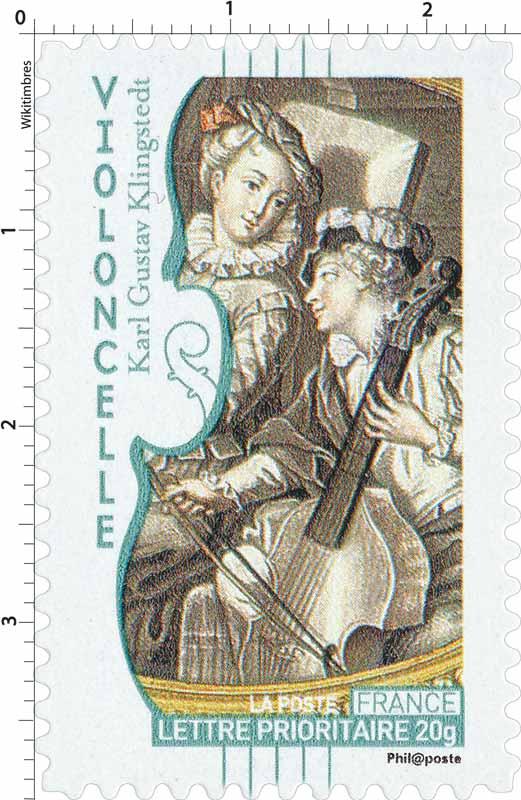 Violoncelle Karl Gustav Klingstedt