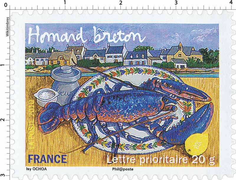 2010 Homard breton