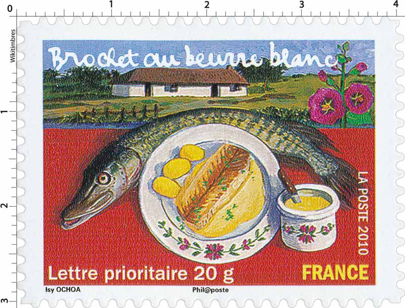 2010 Brochet au beurre blanc