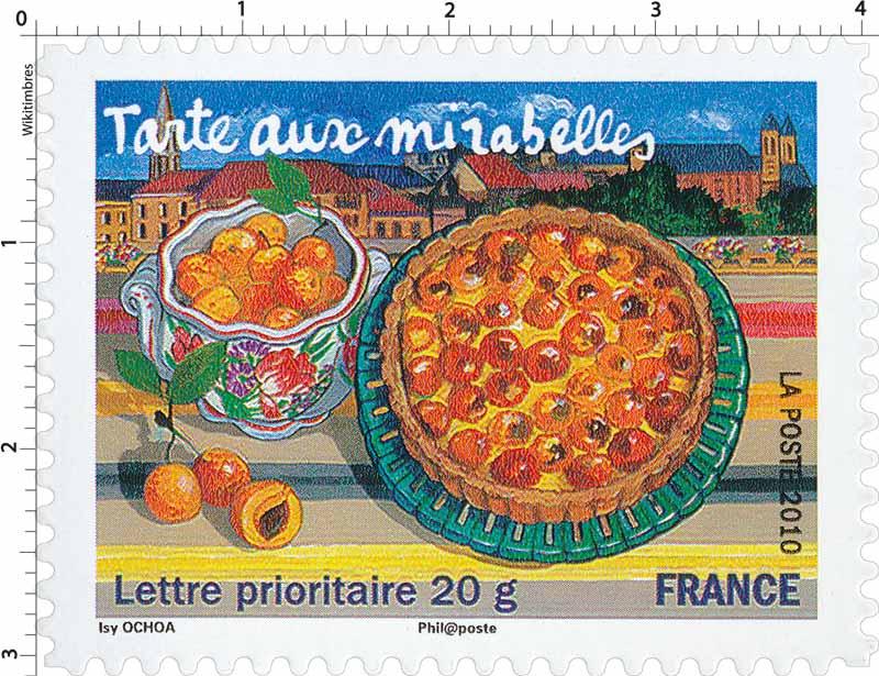 2010 Tarte aux mirabelles