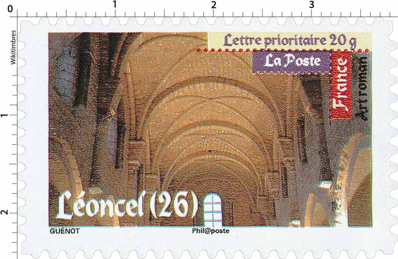 Art roman Léoncel (26)