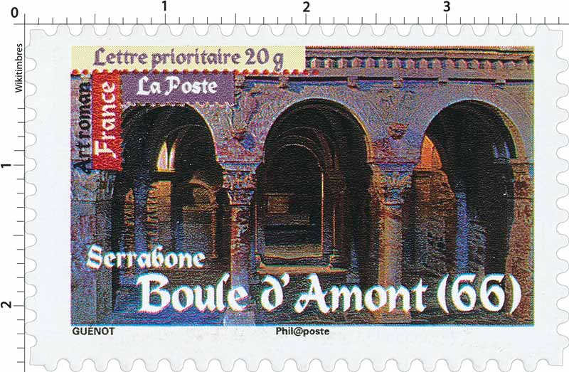 Art roman Serrabone Boule d'Amont (66)