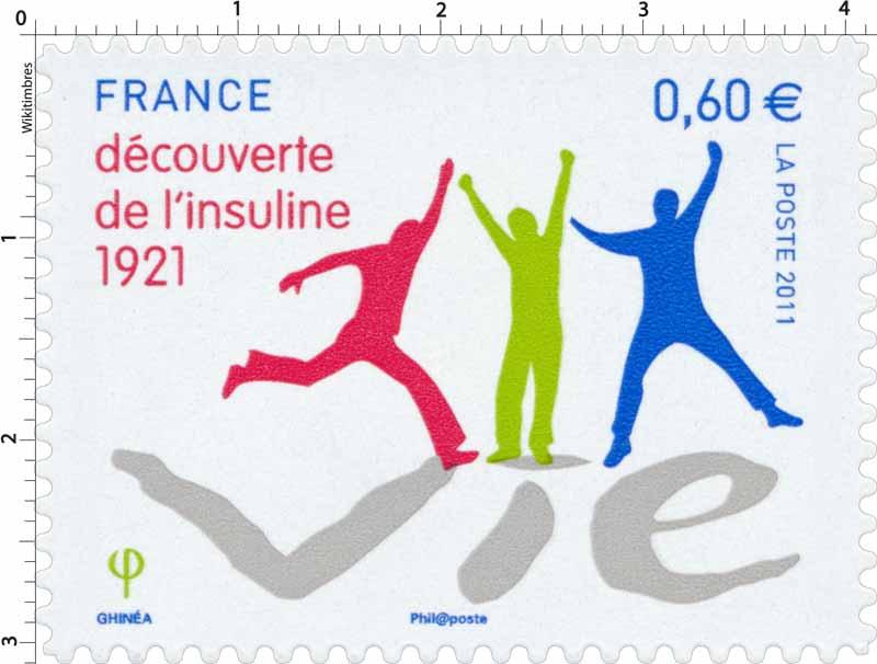 2011 VIE découverte de l'insuline 1921