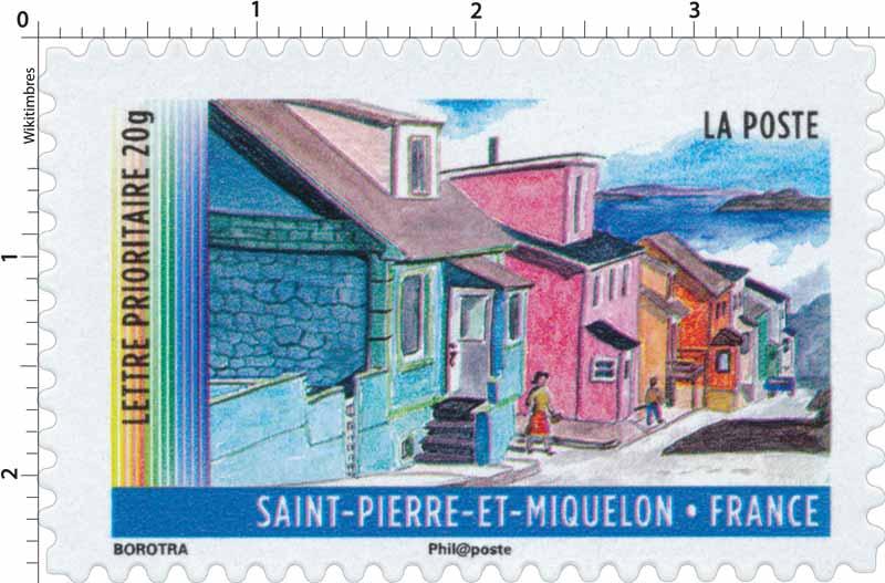 Timbre : Saint-Pierre-et-Miquelon | WikiTimbres