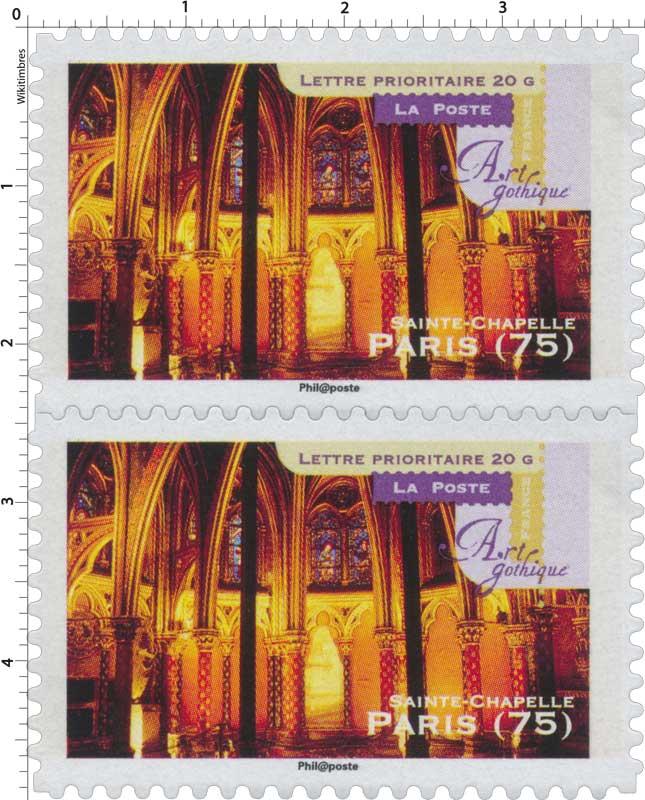 timbre art gothique sainte chapelle paris 75 wikitimbres. Black Bedroom Furniture Sets. Home Design Ideas