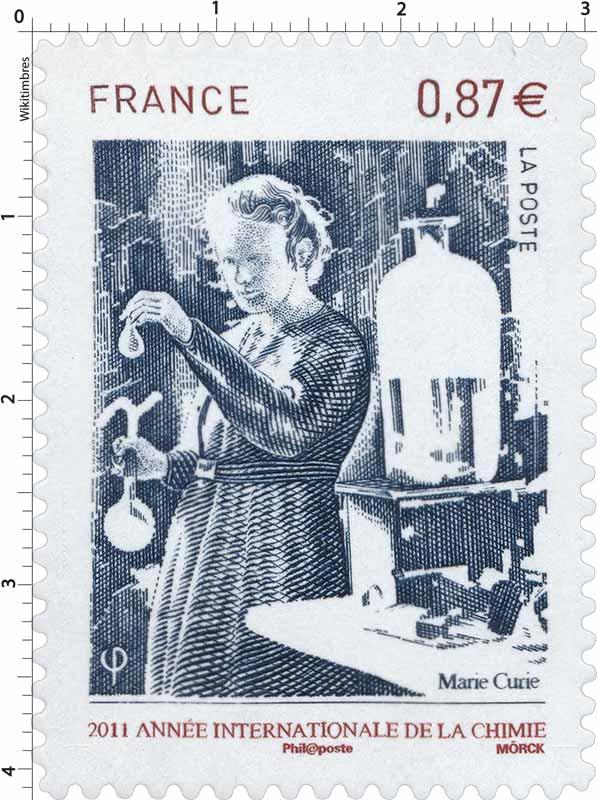 2011 Année Internationale de la chimie