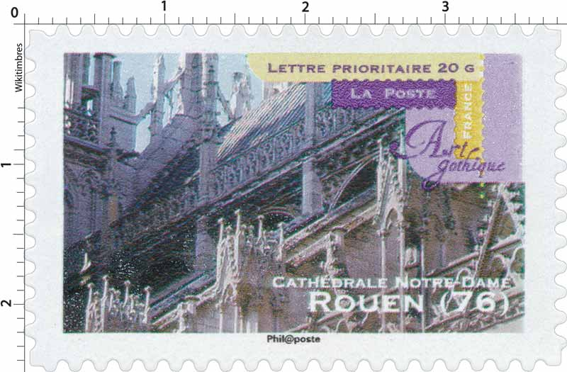 Art gothique Cathédrale Notre-Dame Rouen (76)