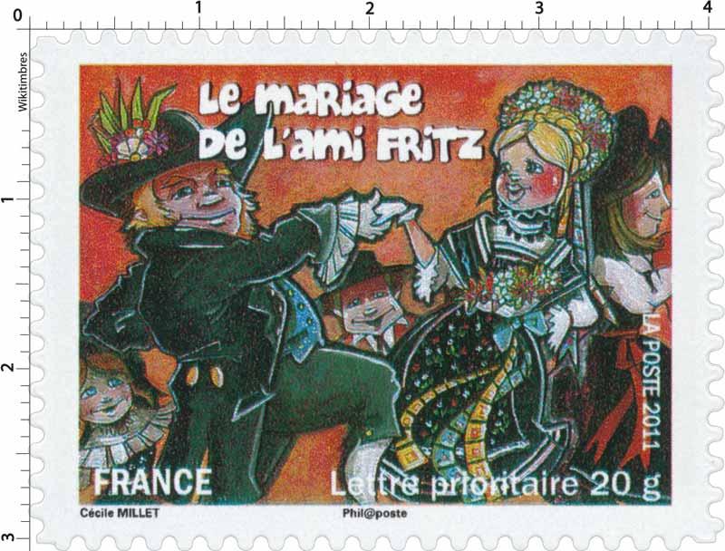 2011 Le mariage de l'ami Fritz