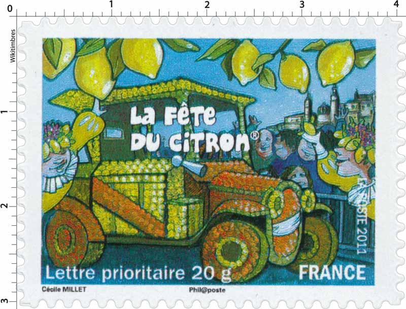 2011 La fête du citron