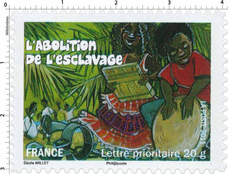 2011 L'abolition de l'esclavage