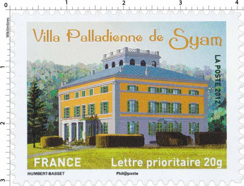 2012 Villa Palladienne de Syam