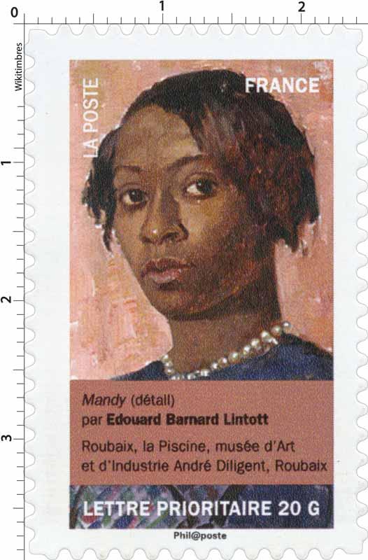 Mandy (détail) par Edouard Barnard Lintott, Roubaix, la piscine, musée d'Art et d'industrie André Diligent, Roubaix