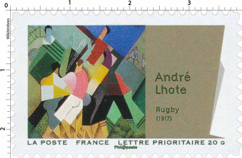 André Lhote Rugby (1917)