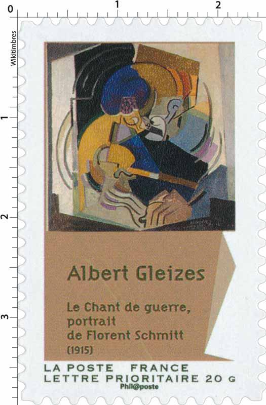 Albert Gleizes Le chant de guerre, portrait de Florent Schmitt (1915)