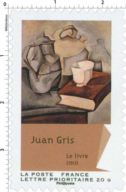 Juan Gris Le livre (1911)