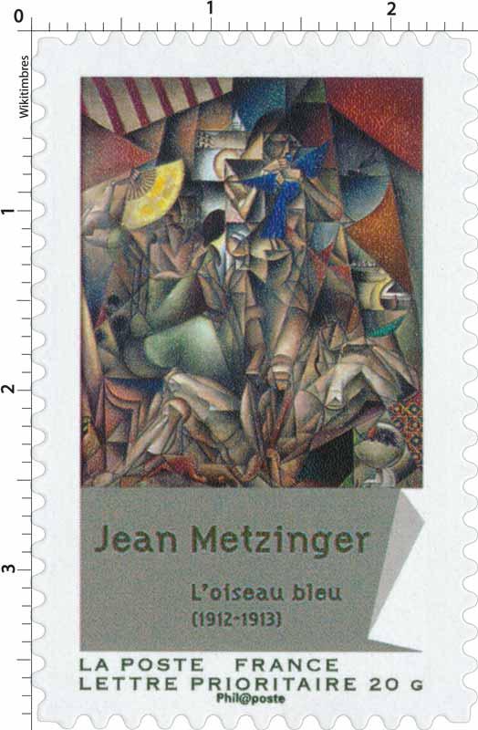 Jean Metzinger L'oiseau bleu (1912-1913)