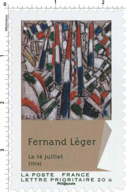 Fernand Léger Le 14 juillet (1914)