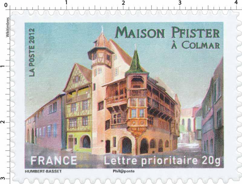 2012 Maison Pfister à Colmar