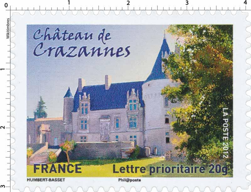 2012 Château de Crazannes