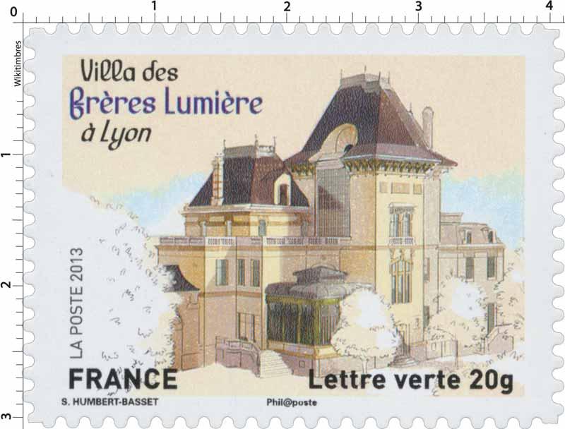 2013 Villa des frères lumière à Lyon