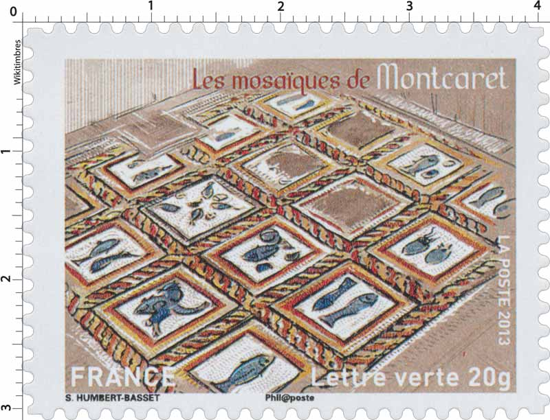 2013 Les mosaïques de Montcaret