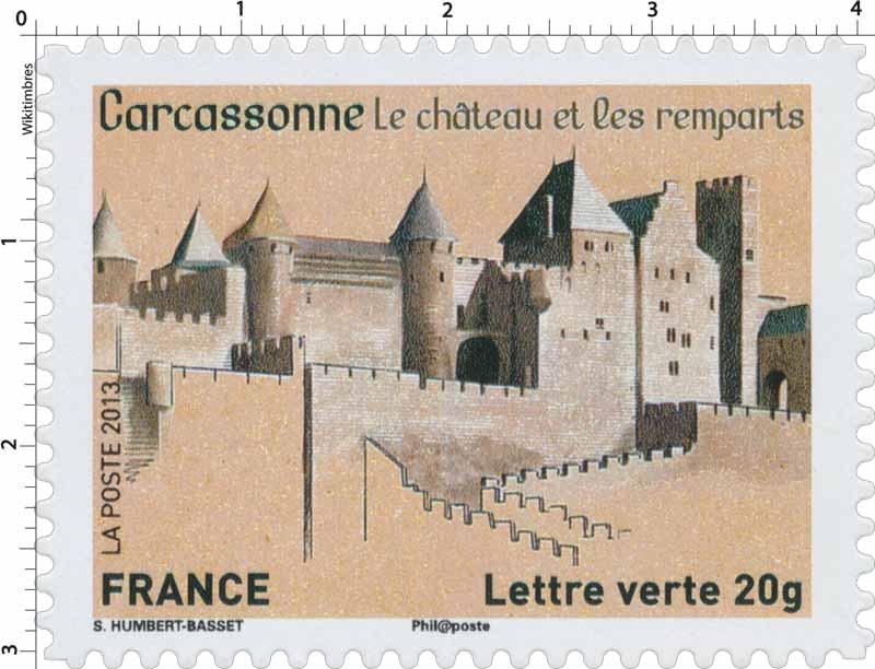 2013 Carcassonne Le château et les remparts