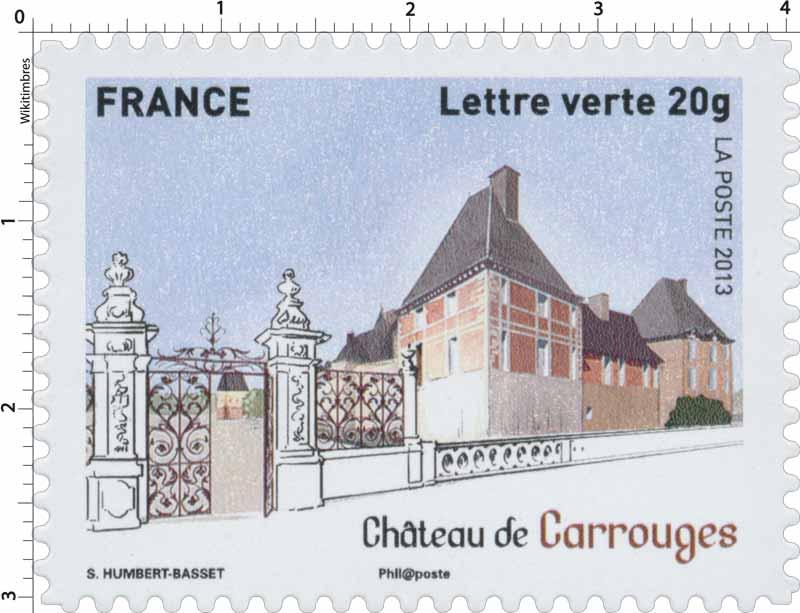 2013 Château de Carrouges