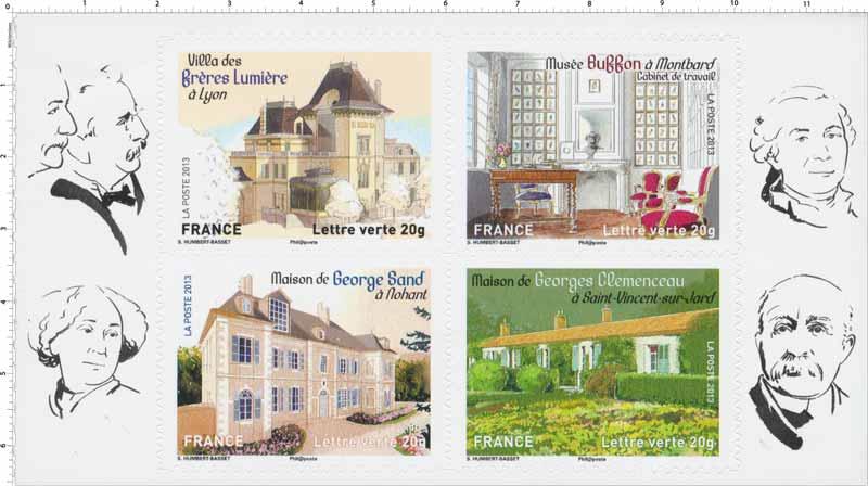 2013 Feuille « Patrimoine de France »