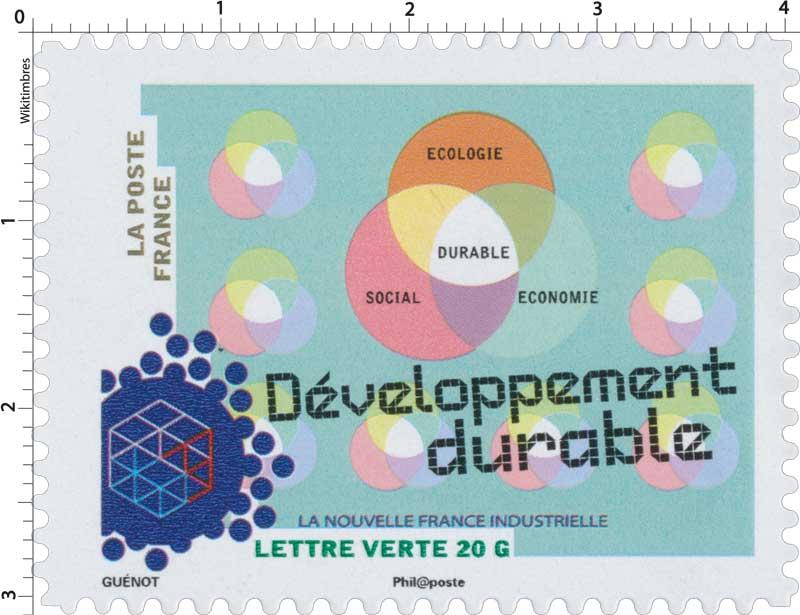 2014 La nouvelle France industrielle - Développement durable