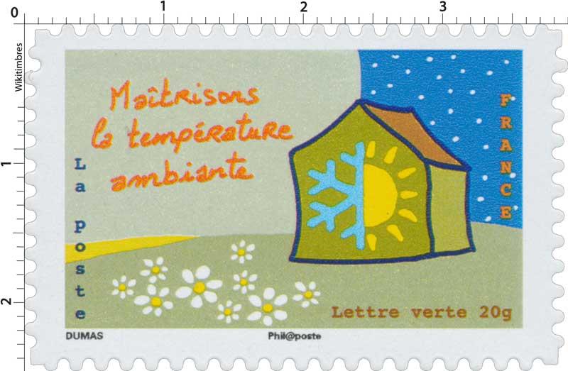 2014 Maîtrisons la température ambiante