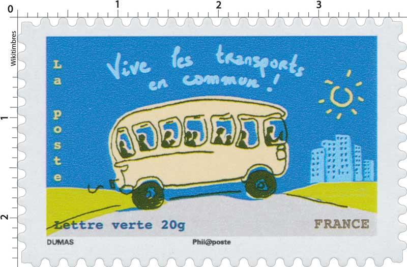 2014 Vive les transports en commun  !