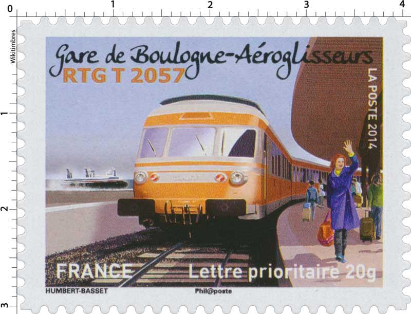 2014 Gare de Boulogne-Aéroglisseurs RGT T 2057