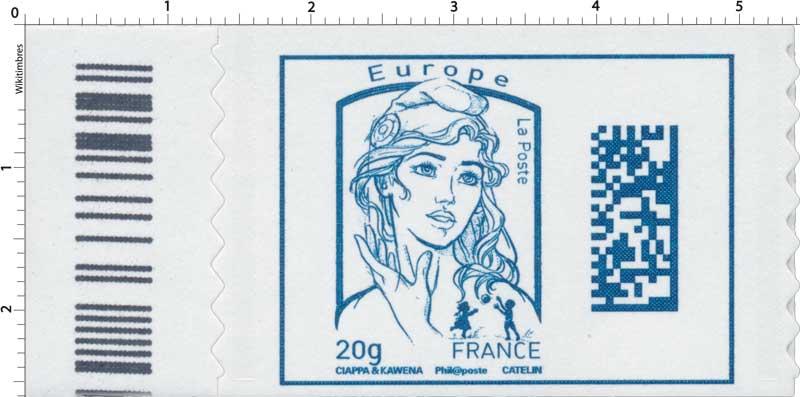 Marianne Europe - Code Datamatrix