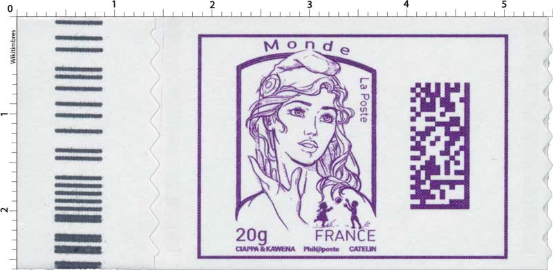 Marianne Monde - Code Datamatrix