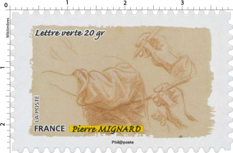Timbre : 2015 Pierre Mignard | WikiTimbres