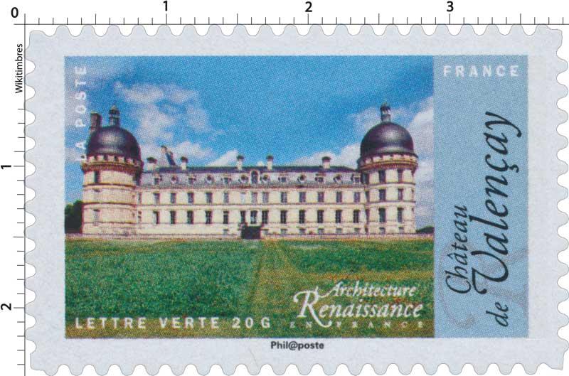 2015 Architecture Renaissance en France - Château de Valençay