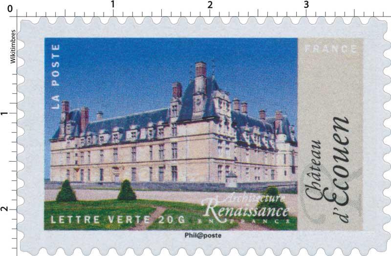 2015 Architecture Renaissance en France - Château d'Écouen
