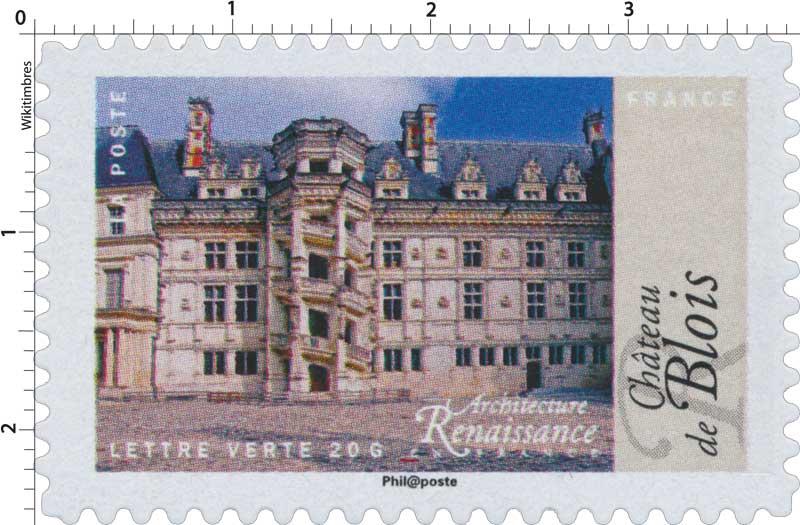 2015 Architecture Renaissance en France - Château de Blois