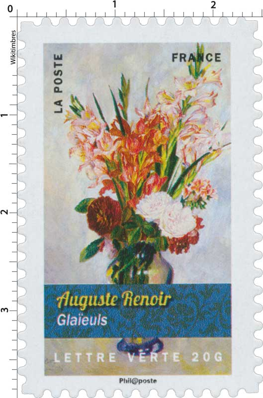 2015 Auguste Renoir - Glaïeuls