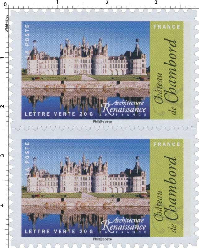 2015 Architecture Renaissance en France - Château de Chambord