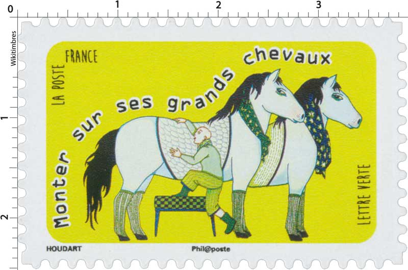 timbre 2016 monter sur ses grands chevaux wikitimbres