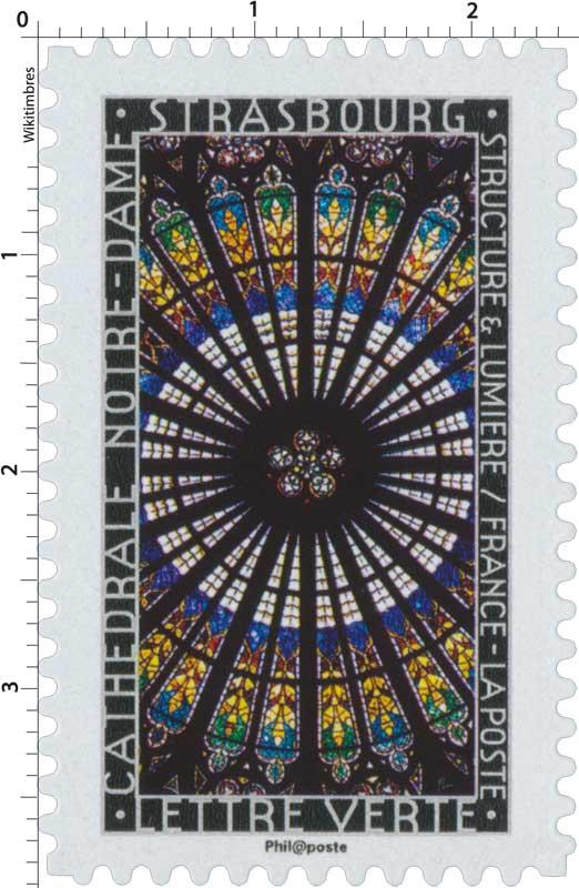 2016 Structure et lumière . Cathédrale Notre-Dame . Strasbourg