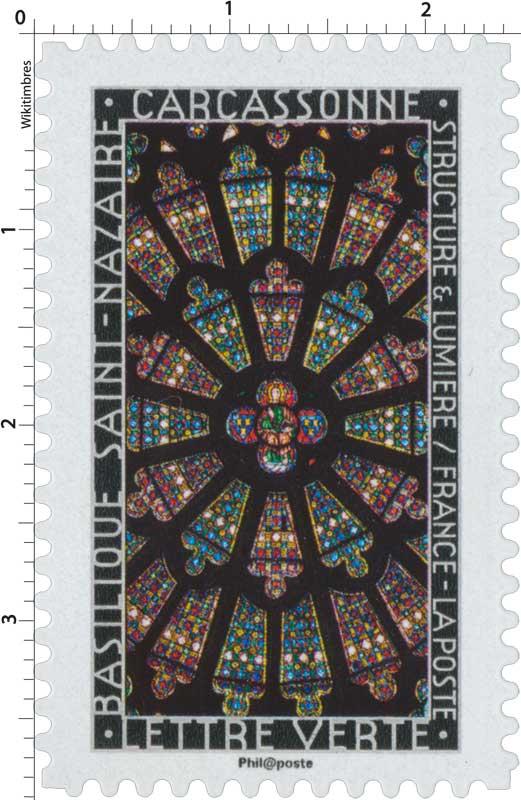 2016 Structure et lumière . Basilique Saint-Nazaire . Carcassonne