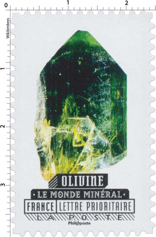2016 Le  monde minéral - Olivine