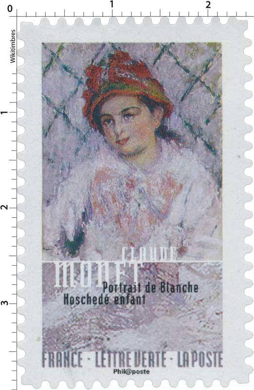 2016 Claude Monet - Portrait de Blanche Hoschedé enfant