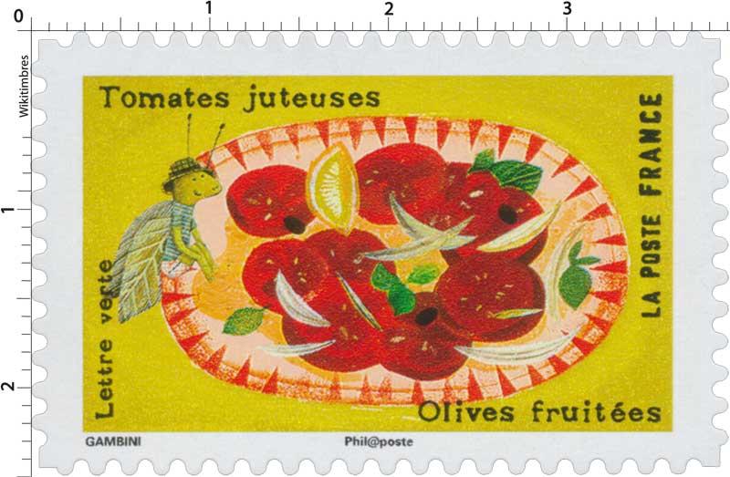 2017 Tomates juteuses - Olives fruitées