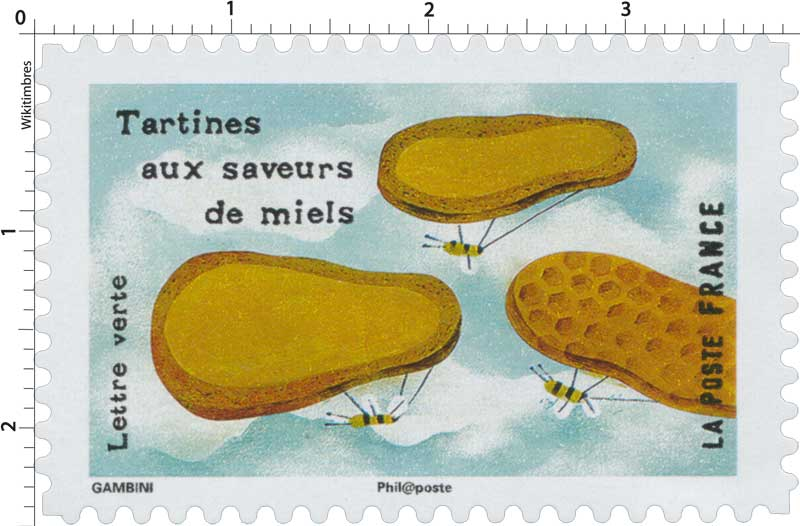 2017 Tartines aux saveurs de miels