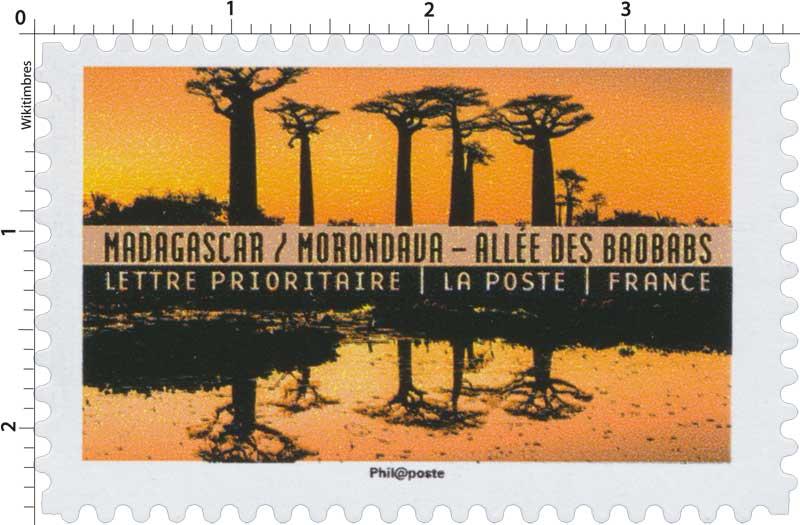 2017 Madagascar / Morondava - Allée des baobabs