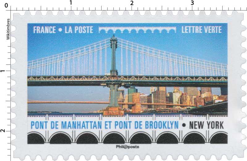 2017 Pont de Manhattan et pont de Brooklyn - New York
